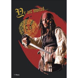 Pirates of the Caribbean's Captain Jack Sparrow
