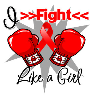 Blood Cancer I Fight Like a Girl With Gloves