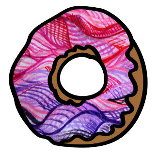 Artistic Donut