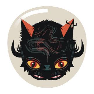 Devil cat head