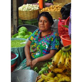 A Mayan market woman
