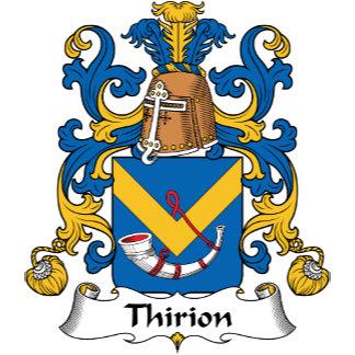 Thirion Family Crest