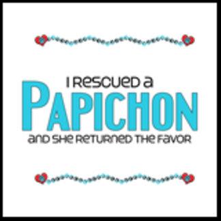 I Rescued a Papichon (Female Dog)