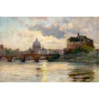 St Peter's Rome From The Tiber