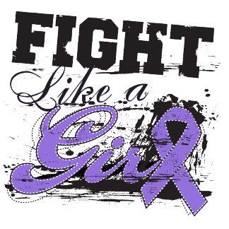 Fight Like a Girl Spray Paint - Hodgkins Lymphoma
