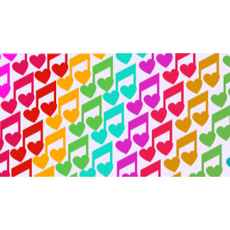 Rainbow Heart Notes