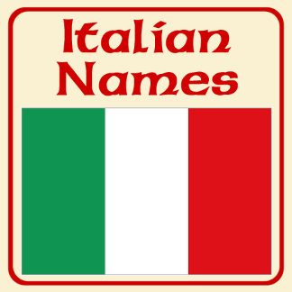 Names of Italy