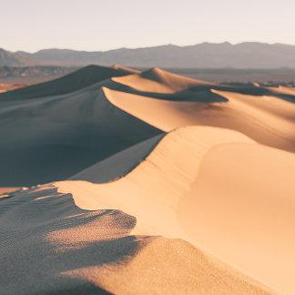 Mesquite Sand Dunes in Death Valley