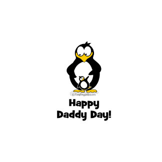 Happy Daddy Day Penguin