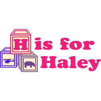 Baby Blocks Haley