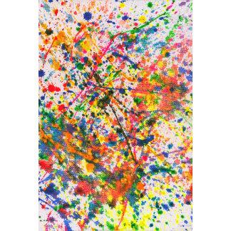Abstract - Crayon - Mardi Gras
