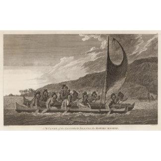 Canoe, Sandwich Islands