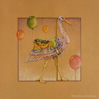 Carousel Stork