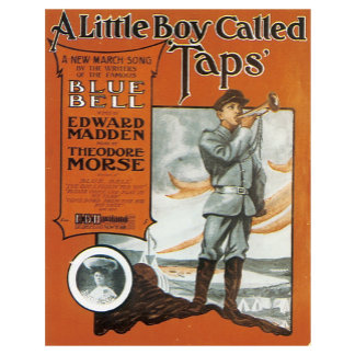 Little Boy Called Taps - Vintage Song Sheet Music