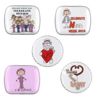 Nurse Candy Tin Favors
