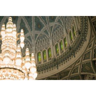 Oman, Muscat, Sultan Qaboos mosque