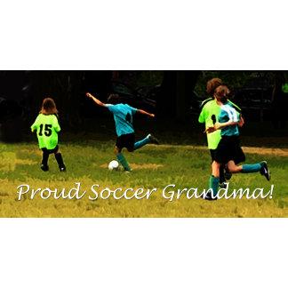 Proud Soccer Grandpa