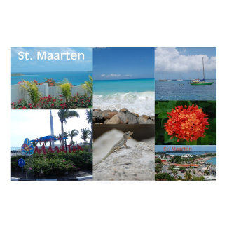 I love Sint Maarten-St. Martin by Celeste Sheffey