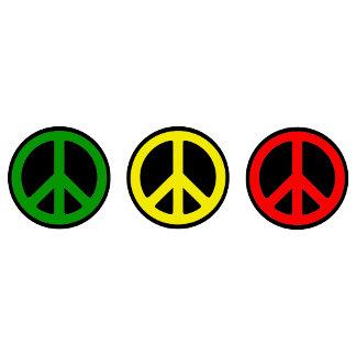 PEACE SIGNS REGGAE T-Shirts