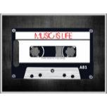 Retro-Music-Is-My-Life-Cassette-Slate-Poster17z.pn