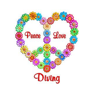 Diving Peace Love