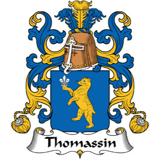 Thomassin Family Crest