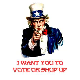 To Vote Or Shut Up