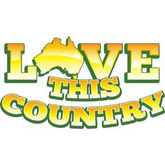 Love this country AUSTRALIA