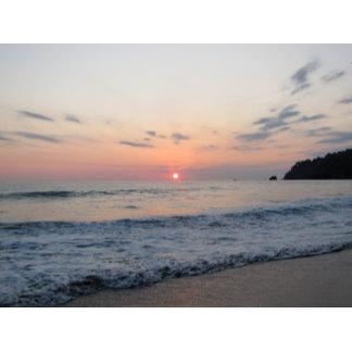 Serene Ocean Sunset