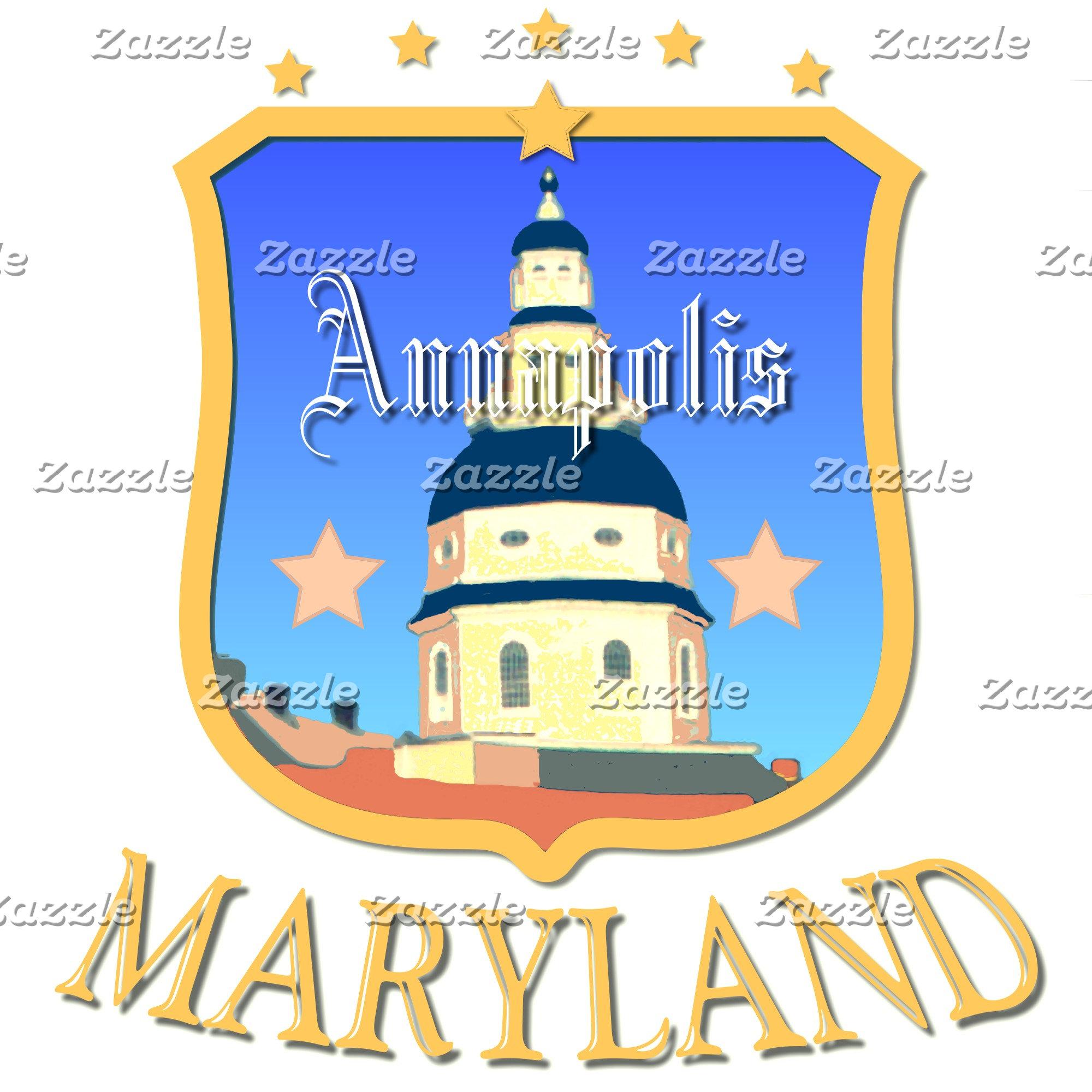 Annapolis Maryland T-shirts