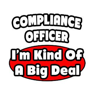 Compliance Officer ... Big Deal