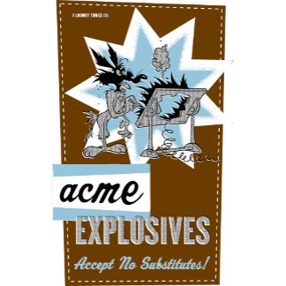 Wile E Coyote Acme Explosives