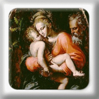 VINTAGE HOLY FAMILY