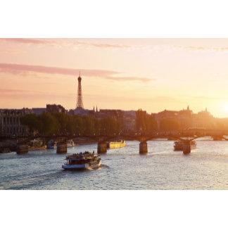Europe, France, Paris (75), Tourist Boat on