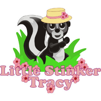 Little Stinker Tracy Personalized