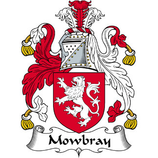 Mowbray Family Crest
