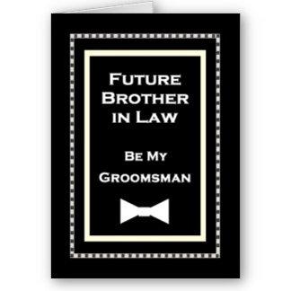 BOW TIE Be My Groomsman