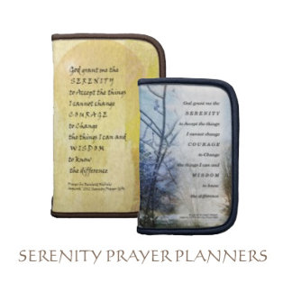 Serenity Prayer Planners