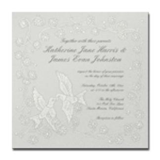 Floral Lace Platinum