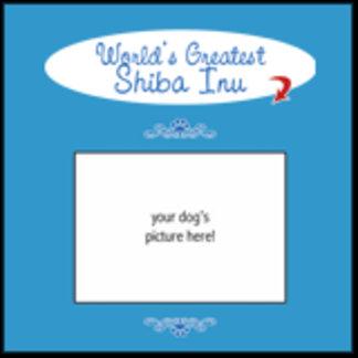 Personalized World's Greatest Shiba Inu