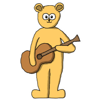Guitarist Bear - Yellow