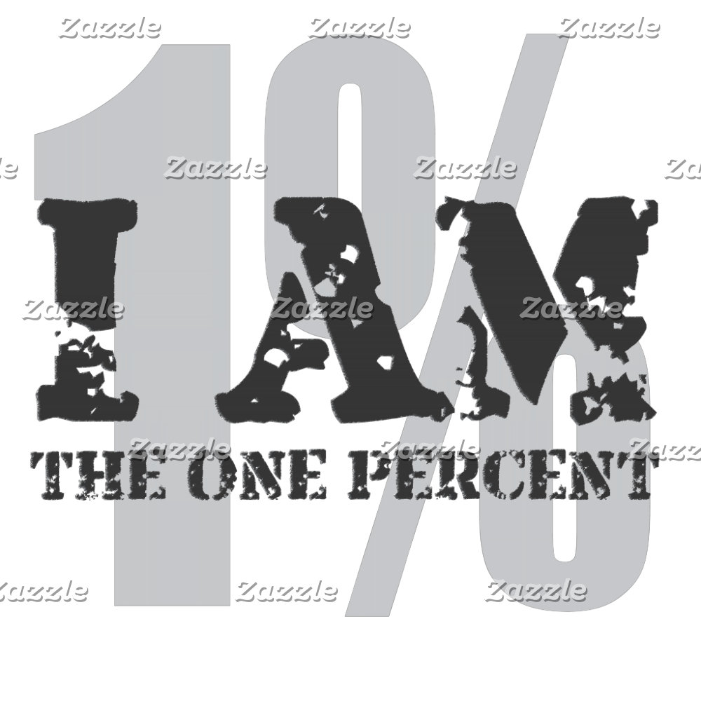 I Am the One Percent! 1%! America's Wealthy Elite
