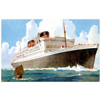 Vintage Ship T-shirts, Gifts