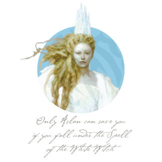 "Narnia's White Witch ""Only Aslan can save you"""