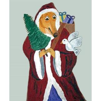 Greyhound Father Christmas