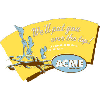 Wile E Coyote and Road Runner Acme