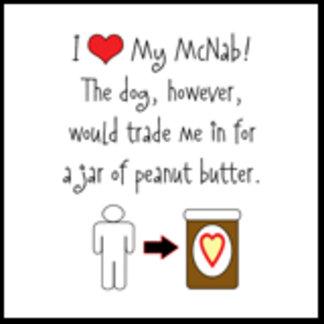 I Love McNab, Dog Loves Peanut Butter
