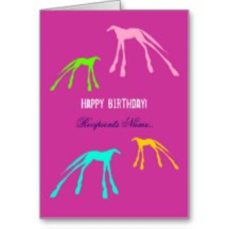 Horse Greetings Cards And Giftwrap