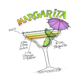 ad. MARGARITA RECIPE COCKTAIL ART
