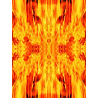 Hell Demon in Fire